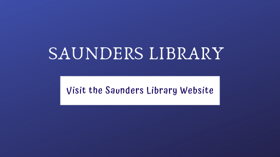 Link to Saunders Library Website